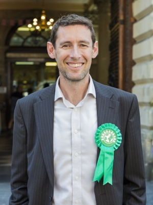 Darren Hall, Green Party candidate for Bristol West