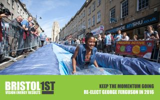 Help support George Ferguson's re-election as Mayor of Bristol in 2016