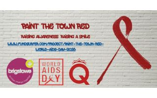 Paint the Town Red - World AIDS Day 2016
