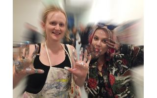 Collaborative Painting UK - Bristol 2019