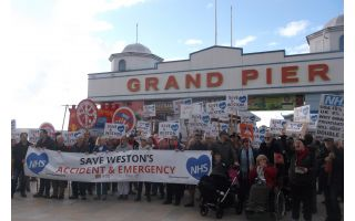 Save Weston A&E