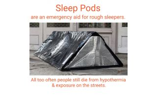 Sleep Pod Fundraising Campaign