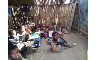 Building a school in Madagascar