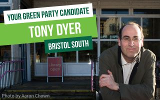Tony Dyer - Green MP for Bristol South