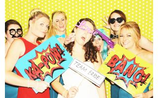 Worlds coolest photo booth for weddings and events