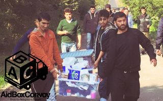 Aid Box Convoy - vital supplies to refugee camps in France