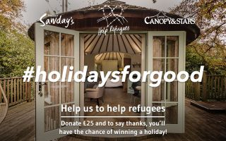 Help Refugees - #holidaysforgood - shelter campaign