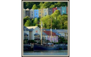 Eco boat-glamping aboard historic sailing boat in Bristol Harbour