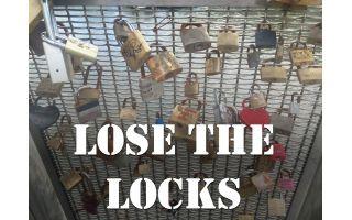 Lose the Locks: cut the Padlocks off Pero's Bridge